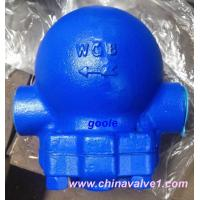 China Threaded Ball Float Steam Trap,cast steel,iron,WCB on sale