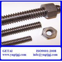 Quality High Strength Stainless Steel Full Threaded Bar M6-M36 of Grade 4.8-12.9 wholesale