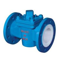 Quality PFTE Lined Ball valve Butterfly valve check valve stop valve Fluorine lined pipe fittings for Acid Chemical Tank wholesale