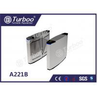 Quality 304 Stainless Steel Optical Barrier Turnstiles With Multiple Anti - Pinch wholesale