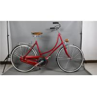 Quality Cheap manufacturer price colorful hi-ten steel  26/28 size retro lady bicycle  for sale wholesale