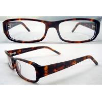 Quality Brown & Red Fashion Hand Made Acetate Optical Eyewear Frame For Men / Women wholesale
