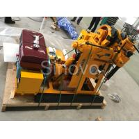 Quality Sinovo Spindle Exploring  Core Drilling Rig XY-1 with drilling depth 100m and rated power 15.7KW wholesale