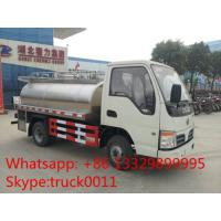 Quality factory direct sale best price dongfeng 2,000L-4,000L milk tank, 2019s new stainless steel liquid food transported truck wholesale