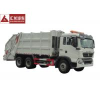 Quality 6x4 Garbage Compactor Truck Right Hand Drive 12CBM With Air Conditioner wholesale