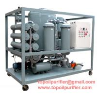 Quality Double-Stage High Vacuum Transformer Oil Purifier, Oil Filter, Oil Separater ZYE wholesale