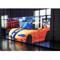 Quality HD Outdoor LED Video Screens High Transparency Aluminum Cabinet Material wholesale