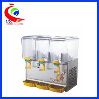 Quality 3 Tank Hot And Cold Drink Dispenser Machine Plastic Commercial Juice Dispenser wholesale