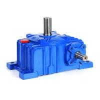China WPWK155 Ratio 20/40 bevel gear box electric motor with reduction gear on sale