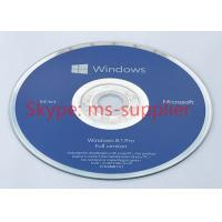 China Full Version Microsoft Windows 8.1 Pro Pack 64 Bit Operating System Software For Laptop on sale