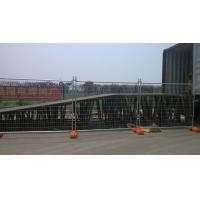 42 Microns Standard Hot-Dipped Galvanized Temporary Fencing 2100mm x 2400mm Auckland Temporary Fence