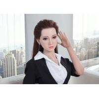 Quality Silicone Sex Doll Asian Girl Adult Love Dolls 160cm Life Size Realistic doll with Implanted Hair wholesale