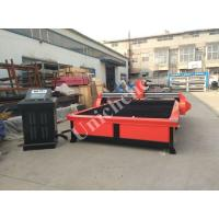 Quality Plasma Metal Cutting Machine 2000 * 3000mm Red / Black CE CNC Plasma Cutter wholesale