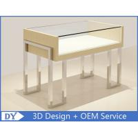 Quality High End Mirror Stainl Steel Jewelry Store Counter With lock wholesale