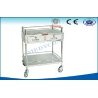 China Hospital Doctor Treatment Medical Trolley , Surgical Hand Cart on sale