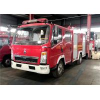 Quality SINOTRUCK Water Foam Fire Fighting Truck, HOWO 4x2 Rescue Vehicles Fire Fighting Truck wholesale