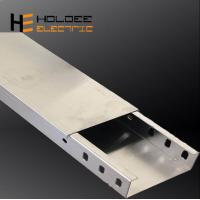 China Heavy Duty Corrosion Resistant Electric Aluminium Alloy 1060 Solid Through Cable Tray 250mm Made In China Low Price on sale