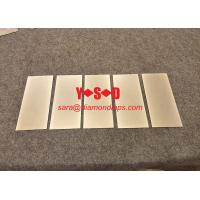 China Flat diamond coated lapping plate Steel based 8 X 3  Grit 600 on sale