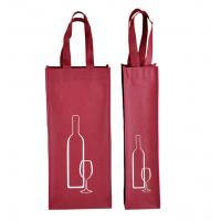 China custom promotional non woven wine bottle bags non woven tote bags supplier on sale