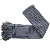 Quality Knitting Scarves (09AWS055) wholesale
