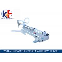 Quality hot sale factory price semi-automatic piston water juice  liquid filling machine made in China wholesale