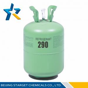 Quality R290 Pure Gas 4.25 Mpa hydrocarbon HC Refrigerant as temperature sensing medium wholesale