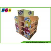 Quality American Full Size Cardboard Pop Displays Pallet Type For M&M Candies PA038 wholesale