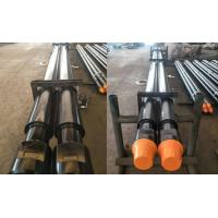 Quality Oil / Gas Well DTH Drilling Tools Threaded Steel Rod Pipe With Wrench Flat Length 1000mm - 3000mm wholesale