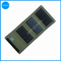 Quality 5W folding monocrystal solar cell charger wholesale