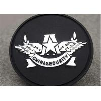 Quality Sew On Badges Type Custom Clothing Patches Pvc Label Round Shape wholesale