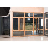 Quality Customized Aluminium Glass Window Powder Coated For Residential / Office wholesale
