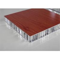 China Interior / Exteriors Wall / Ceiling PVDF Aluminum Honeycomb Board 10mm - 25mm on sale