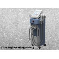Cheap IPL E-light  Laser Tattoo Removal Equipments Vertical 3 Handles 15 x 50mm Spot Size for sale