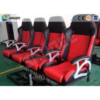 Quality Pneumatic System 6d Motion Theater With Spary Water , Sweep Leg , Can Holding 200 People wholesale
