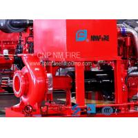China 300GPM@110PSI Centrifugal Fire Pump 254 Feet With 42.5KW Max Shaft Power on sale