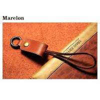 Cheap Leather Keychain USB Data Cable Pocket Size For Portable Creative Gifts for sale