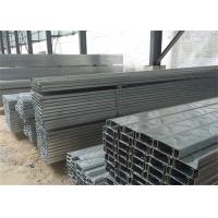 Quality Building Material Galvanised Steel Purlins Z Section 150 To 300mm For Roofing wholesale