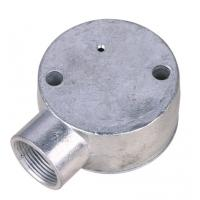 Buy cheap 20mm / 25mm Conduit Junction Box / One Way Junction Box ISO9001 / SGS Approval from wholesalers