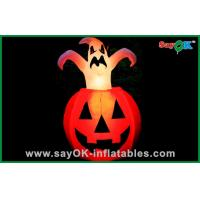 China Cute Large Inflatable Pumpkin Halloween Airblown Inflatables For Children on sale