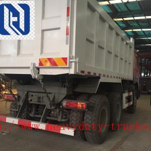 China Left Hand Drive Heavy Duty Dump Truck , 10 Wheels New Dump Truck 6x4 on sale
