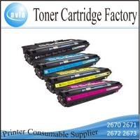 Quality Compatible Printer Toner Cartridge Q2670A Series for HP Laser Jet 3500 3550 wholesale