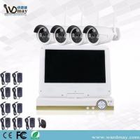 China CCTV 4chs 1.3/2.0MP Home Wireless Surveillance Camera WiFi NVR Alarm System with 10.1 Inch LCD Screen on sale