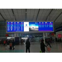 Buy cheap P5mm SMD2121 Indoor Advertising LED Display Or Railway Station Message Board from wholesalers