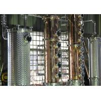 Quality 500gal Distillery brandy gin vodka alcohol copper still equipment for sale wholesale