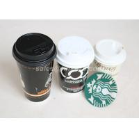 Quality Hot / Cold 8oz Custom Printed Paper Cups Single Wall Decorative Disposable Coffee Cups wholesale