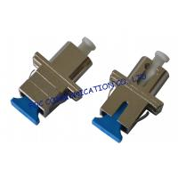 Quality LC - SC Hybrid Optical Fiber Adapter , Singlemode Fiber Optic Cable Adapter wholesale