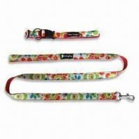 China Pet Leash, Various Sizes/Colors are Available, Made of Nylon and Terylene on sale