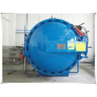 Cheap Automatic hot presser vulcanization tank autoclave with PLC system and cylindric and single drum structure for sale