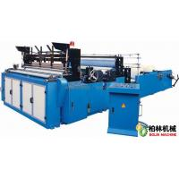 Quality Series of Full-automatic Edge-trimming Tail-gluing Embossing Rewinding and Perforating Toilet Paper Machine wholesale