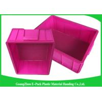 Top Plastic Solid Euro Stacking Containers Reusable For Fruit And Vegetable